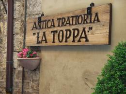 Trattoria where we had supper. Excellent food and wine! Bravo! , Marise G - June 2011
