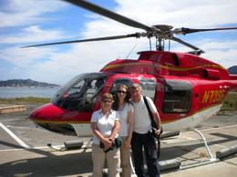 Photo of San Francisco San Francisco Vista Grande Helicopter Tour Fraser, Dorothy and daughter Laura
