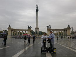 Photo of Budapest Budapest Segway Sightseeing Tour In Heroes Square with much history to be learnt.