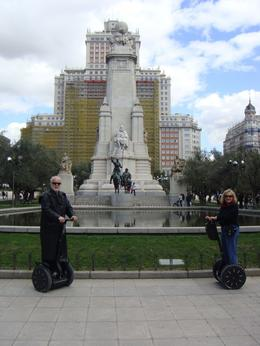 Photo of Madrid Madrid Segway Tour It didn't get any better than this.