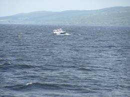 Boat tour in Lake LochNess, Could not get a glimpse of Nessy , Nandini C - August 2013