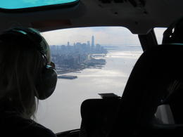Photo of New York City Complete New York, New York Helicopter Tour New York through the helicopter window