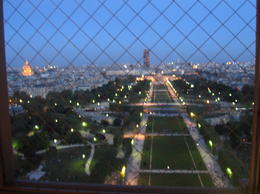 Photo of Paris Eiffel Tower Dinner and Seine River Cruise observation deck