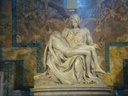 Photo of Rome Skip the Line: Vatican Museums, Sistine Chapel and St Peter's Basilica Half-Day Walking Tour Pietá!