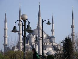 The wonder that is the Blue Mosque. - September 2009