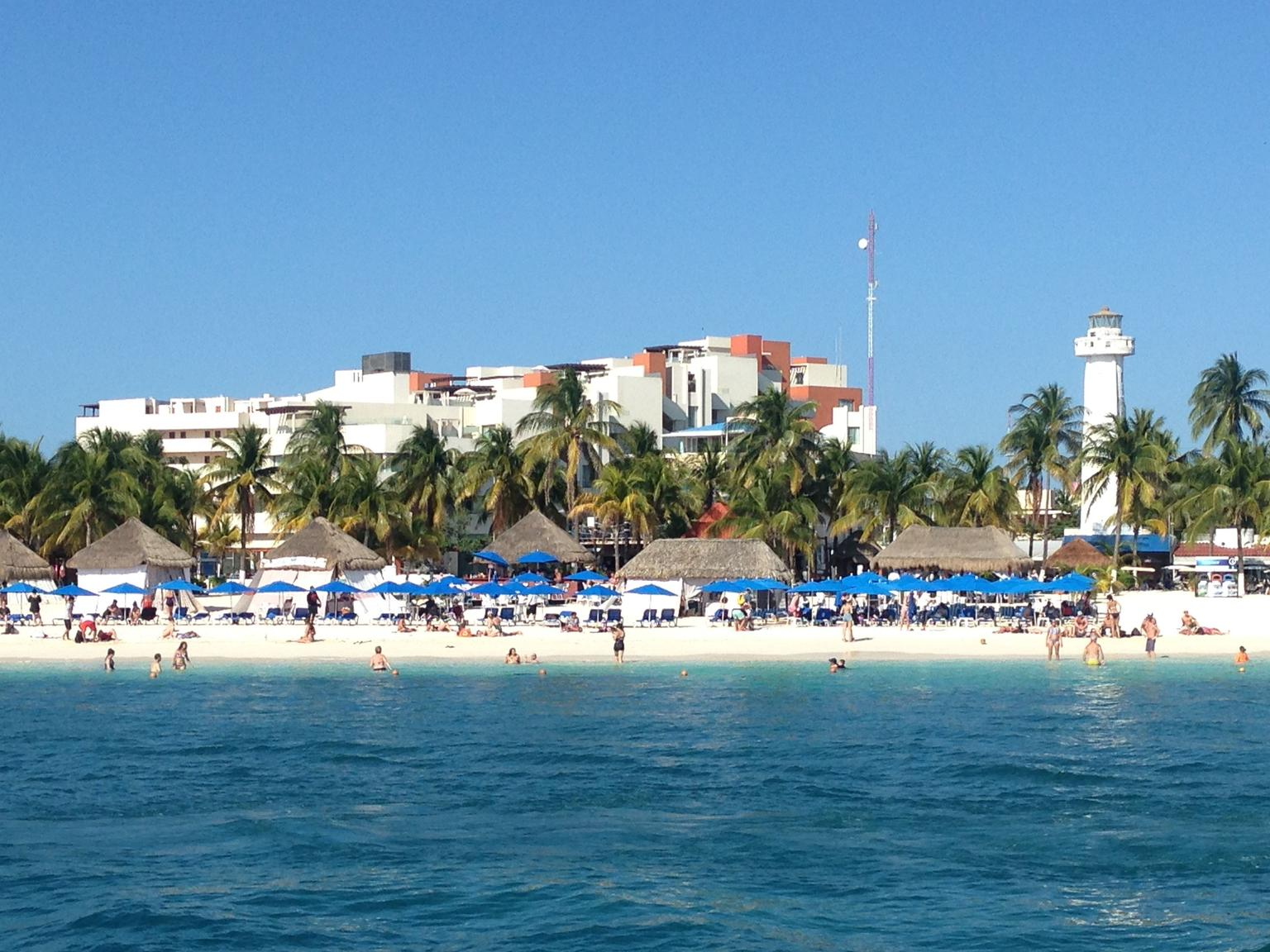 Sightseeing, Snorkeling, and Dancing Catamaran Cruise from Cancun