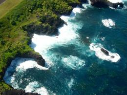 Photo of   Aerial view of the Maui coastline