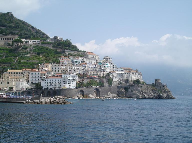 Amalfi from the water - Rome