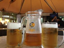 Photo of   Beers at Lau Pa Sat Market