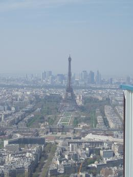 Great view of the Eiffel tower, Frances - April 2010