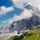 Photo of Zurich Eiger - Jungfrau Glacier Panorama View (from Zurich) Eiger North Face, Switzerland