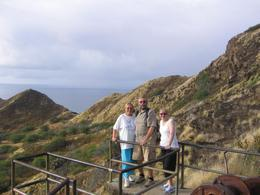 Photo of Oahu Diamond Head Crater Small Group Adventure Half Way