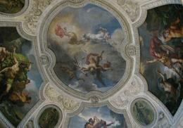 Louvre roof, every room seemed to have beautiful ceilings, Albert R - November 2009