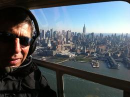 Myself and Manhattan by the air , Bernard A - December 2013