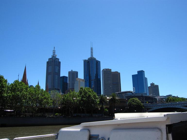 Beautiful day to drift along the Yarra River!