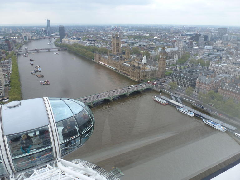 over the Thames - London