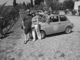 Photo of Florence Self-Drive Vintage Fiat 500 Tour from Florence: Tuscan Wine Experience pit stop