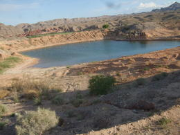 Would have never thought a small lake would be out there., Michele Carbajal Curiel - May 2013