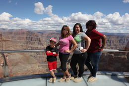 On the Skywalk all together - October 2014