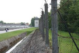 Photo of Munich Dachau Concentration Camp Memorial Small Group Tour from Munich The Fence
