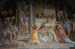 Photo of Rome Skip the Line: Vatican in One Day The Fire in the Borgo, 1514, Stanza dell'incendio del Borgo