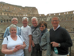Photo of Rome Ancient Rome Half-Day Walking Tour The full group was a brilliant small size of just six people