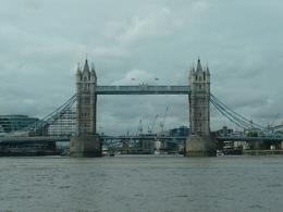 This photo was taken during the Thames River Lunch Cruise. - November 2008