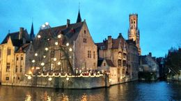 Perfect evening snap in Bruges , Neeraj D - January 2016