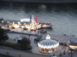 Photo of Paris Eiffel Tower Dinner and Seine River Cruise carousel and sienne