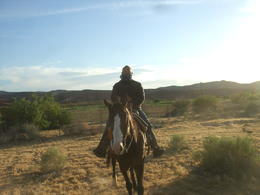 Photo of Las Vegas Wild West Sunset Horseback Ride with Dinner Cowboy!