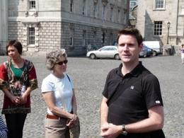 Photo of Dublin Dublin Historical Walking Tour including Trinity College Edward the Guide
