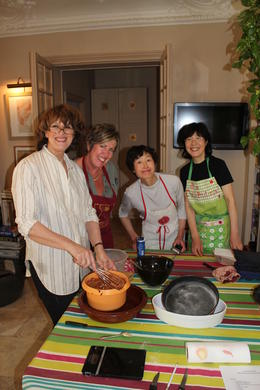Photo of Paris Small-Group French Cooking Class in Paris France  and  Italy 2011 076