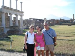 Photo of Rome Pompeii and Amalfi Coast Small Group Day Trip from Rome Hello from Pompeii!
