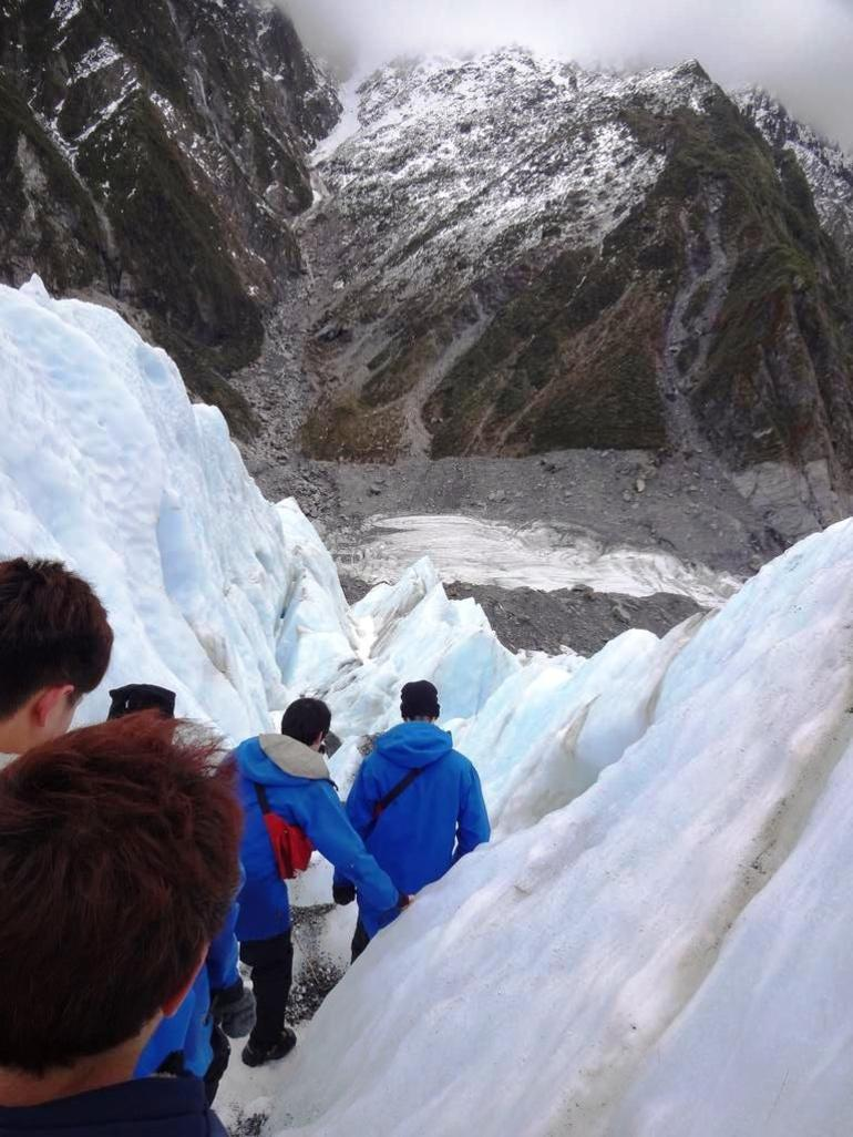 ice hiking - Franz Josef & Fox Glacier