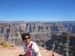 We had lunch at Guano Point amidst the spectacular scenery of the Grand Canyon., Lolita D - October 2010