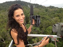 Skyrail Rainforest Cableway, Asha & Brock - July 2013