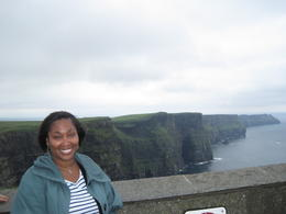 Photo of Dublin Cliffs of Moher Day Trip from Dublin Me  and  the Cliffs Behind
