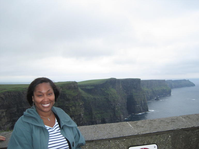 Me  and  the Cliffs Behind - Dublin