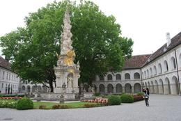 An ancient monastic courtyard (Heiligenkreuz Abbey) hidden in the Vienna Woods, Alan B - August 2010