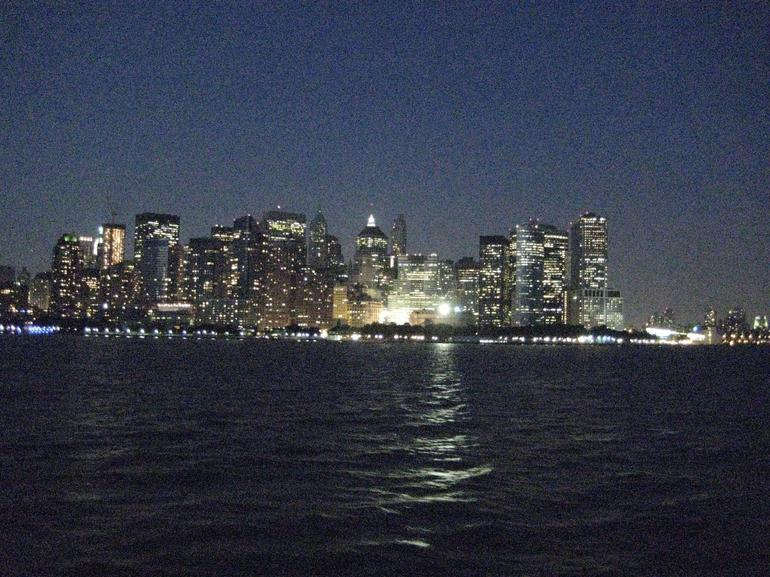Night Skyline of Manhattan - New York City