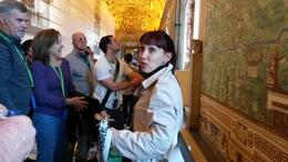 Photo of Rome Skip the Line: Vatican Museums Walking Tour including Sistine Chapel, Raphael's Rooms and St Peter's Our guide