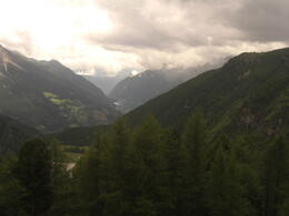 Photo of Milan Swiss Alps Bernina Express Rail Tour from Milan paisaje desde el tren