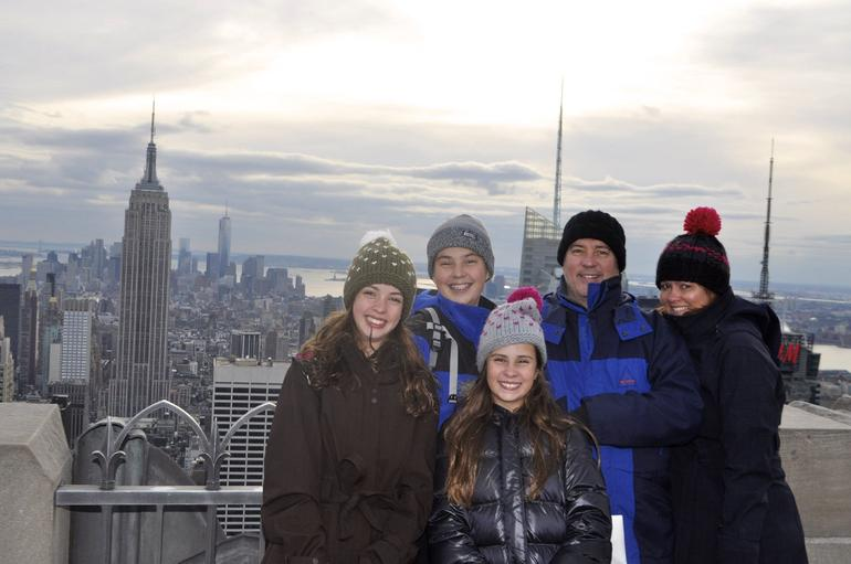 Photo taken at the Top of the Rock - New York City