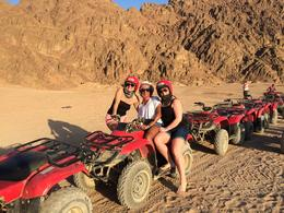 Photo of Sharm el Sheikh Quad Biking in the Egyptian Desert from Sharm el Sheikh Pit stop at Echo Valley