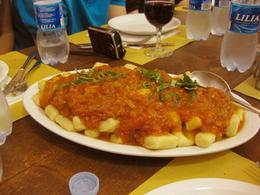Photo of Florence Tuscan Cooking Class and Dinner in Florence Platter of Gnocchi