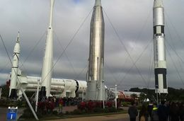 Retired space rockets erected in their glory for the world to admire - Be better than average! , Sanjoy S - January 2016