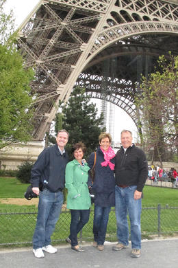 Happy to see the Eiffel Tower without having to wait in line! , Kristin C - May 2013