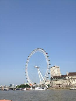 Here is our view of the Eye from the ground, pre flight. , Meredith W - July 2013