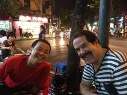 Photo of Hanoi Hanoi Street Food Walking Tour Very enjoyable evening at corner outdoor restaurant!