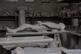 Photo of Rome Pompeii Day Trip from Rome Victim of the Pompeii destruction.